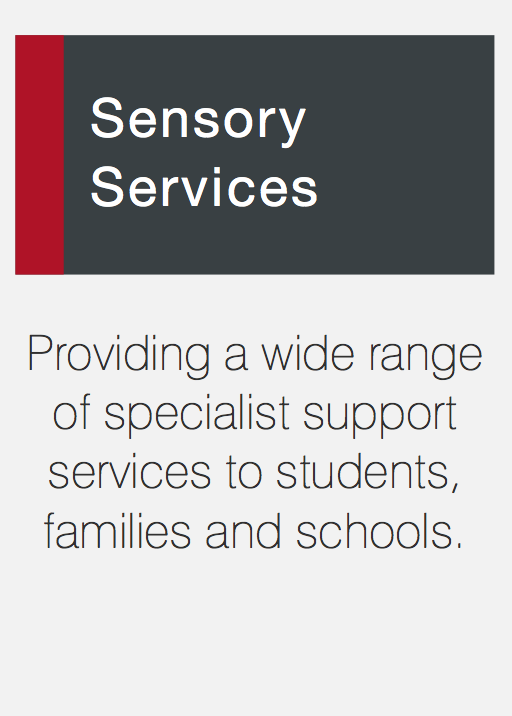 Link to Sensory services