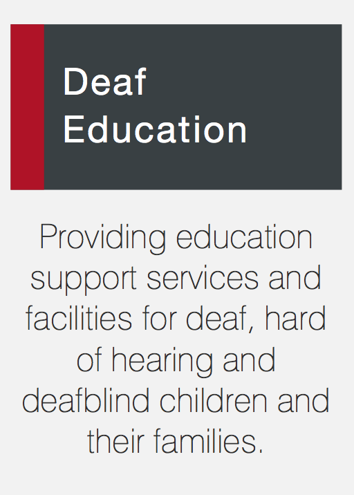 link to Deaf Education